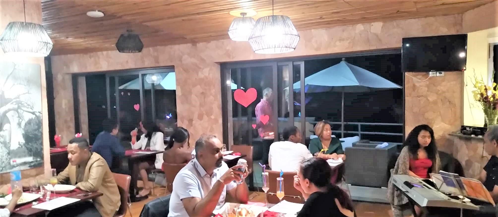 La Saint Valentin fêtée au Havana Resort & Spa, soirée du 14 Février 2020