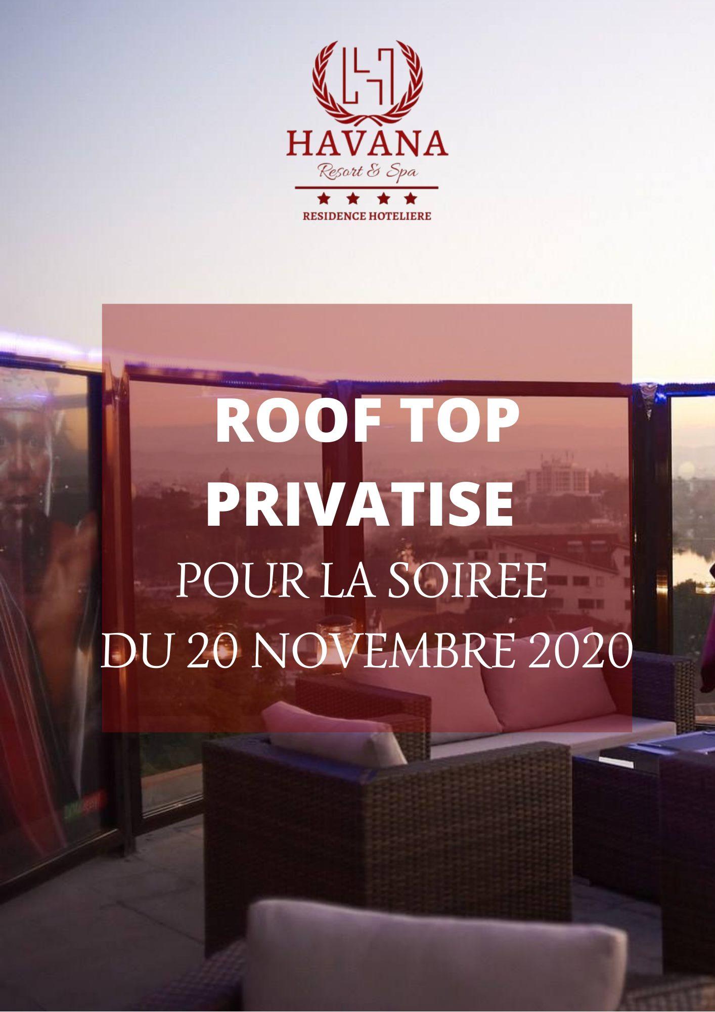 ‼️ ROOF TOP privatisé ‼️