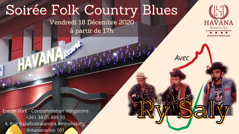 ‼️ Soirée Folk Country Blues ‼️