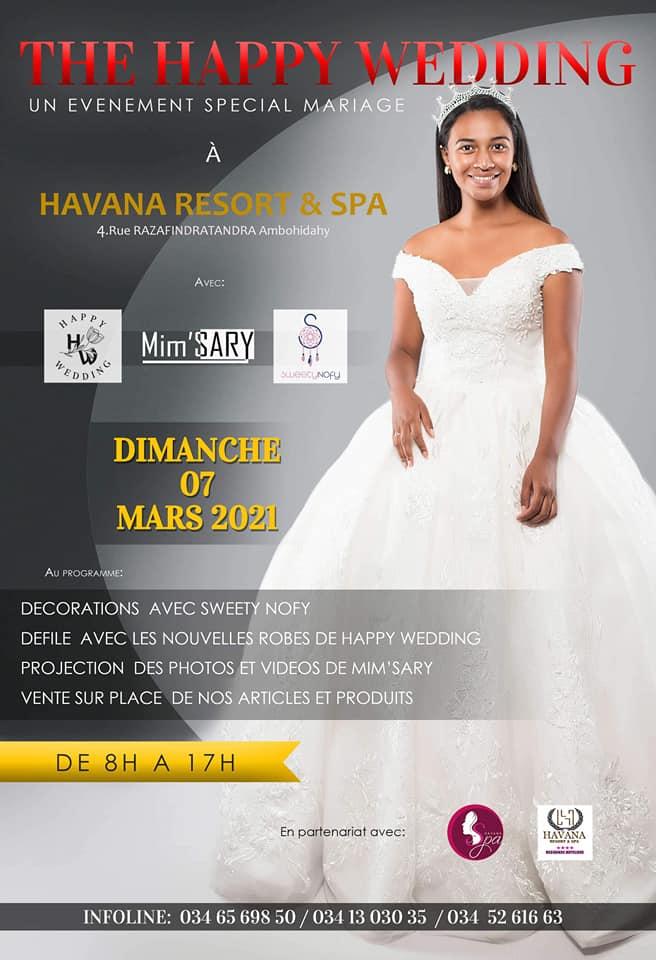 🥳‼️ Nos Événements du Weekend ‼️🥳 au Havana Resort & Spa****.