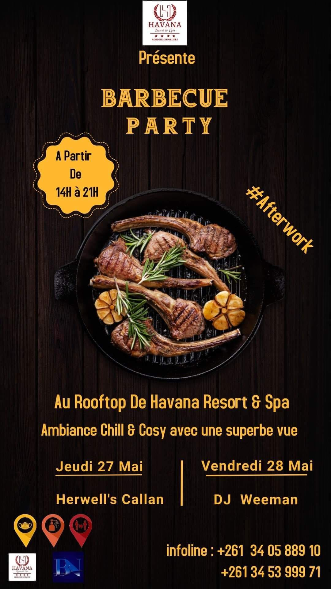 ‼️ BARBECUE ~ Afterwork ‼️