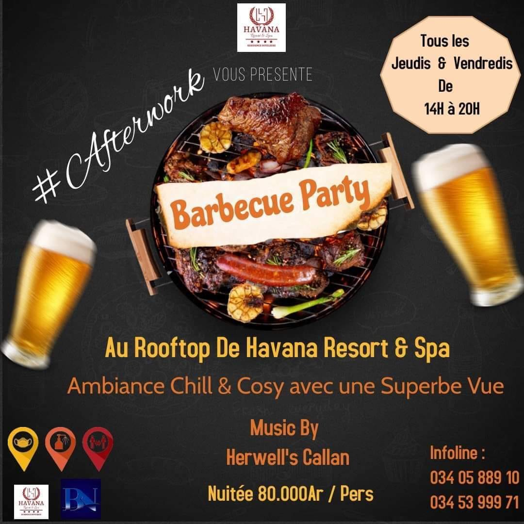 🥳‼️ Barbecue Party ‼️ 🥳