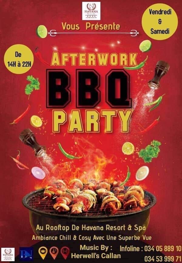 ‼️ BBQ PARTY ‼️