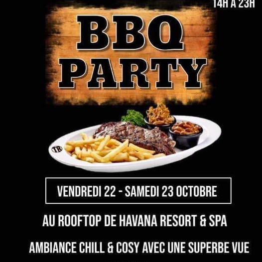 ‼️ Afterwork – Barbecue Party ‼️ dès 14h.